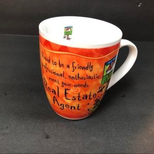 History and Heraldry Real Estate Agent Coffee Mug